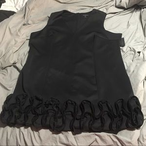 Lane Bryant  Black Scuba Dress size 28P